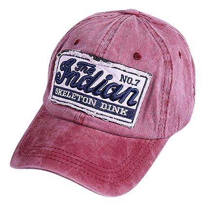 Gorras Beisbol,Zarupeng Gorra de Verano Bordada de Malla Sombreros para Hombres Mujeres Sombreros Casuales