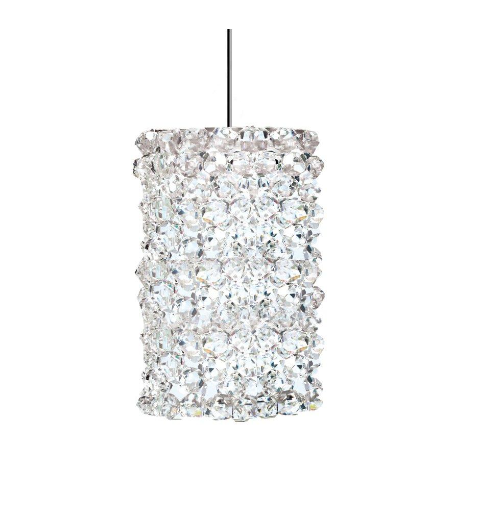 WAC Lighting QP-LED939-WD//DB Haven Quick Connect LED Pendant White Diamond Shade with Dark Bronze Socket Set