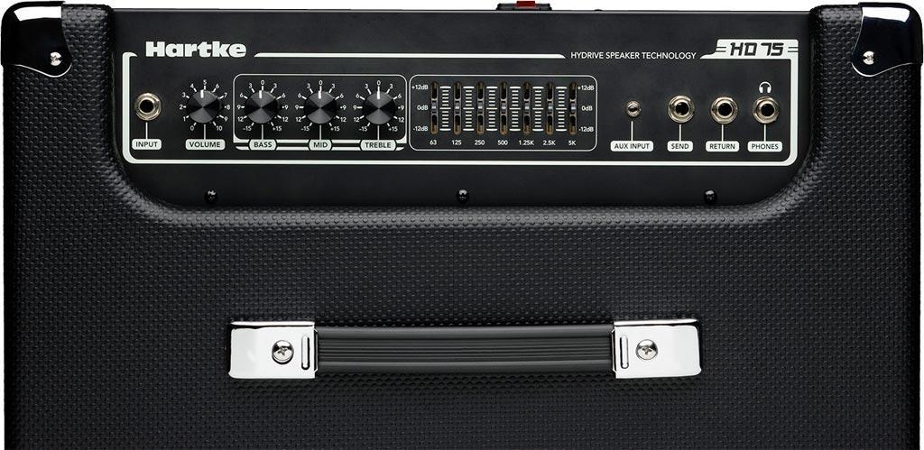 hartke hd75 bass combo hartke musical instruments. Black Bedroom Furniture Sets. Home Design Ideas