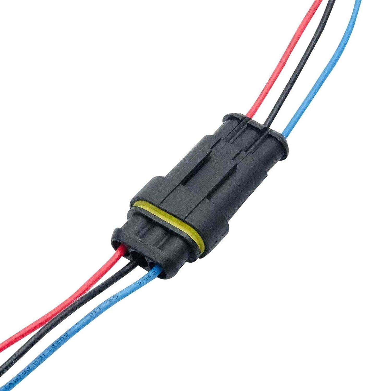 JK-2 10 ST/ÜCKE 12 V UK Auto wasserdichte Elektrische Steckverbinder Stecker Kabel Automotive Draht Steckverbinder Stecker