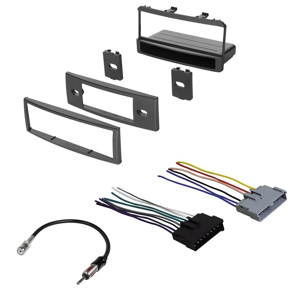 CAR Radio Stereo Radio KIT Dash Installation MOUNTING W/Wiring Harness for Mercury and Ford 1999-2004 by American International , Metra, Scosche
