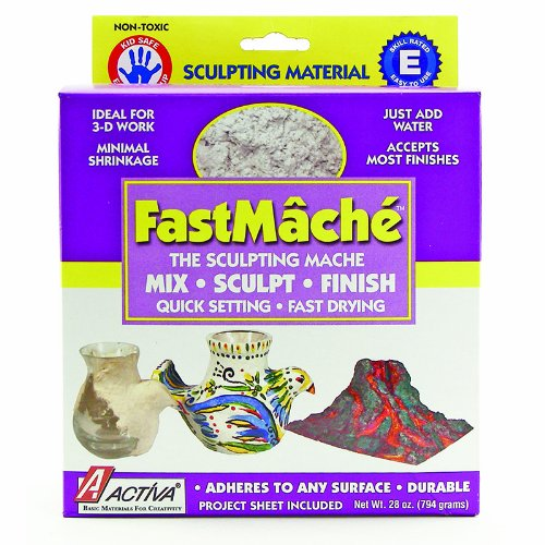 ACTIVA PRODUCTS FAST MACHE - INSTANT MACHE 28 OZ (Set of 6) by Activa Products