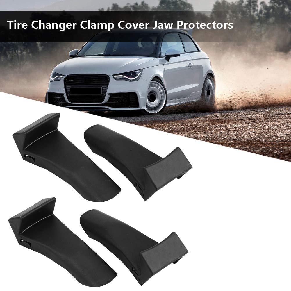 4pcs Reifenmontiermaschine Clamp Cover Backenschutz Guard Schutzabdeckungen Reifenmontagemaschinen Bent angle