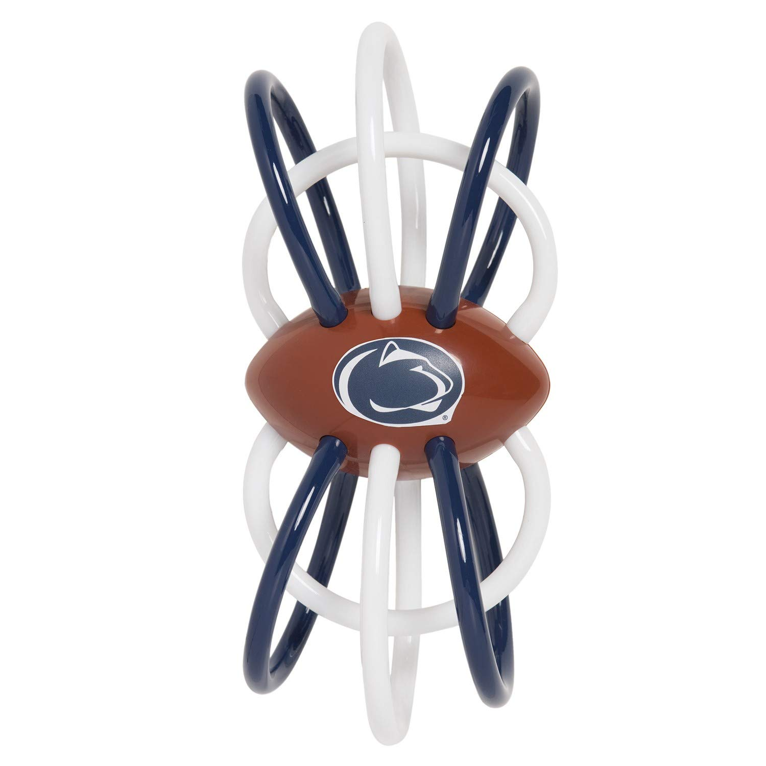 Baby Fanatic Penn State Nittany Lions Winkel Rattle and Teether Officially Licensed NCAA Baby Toy