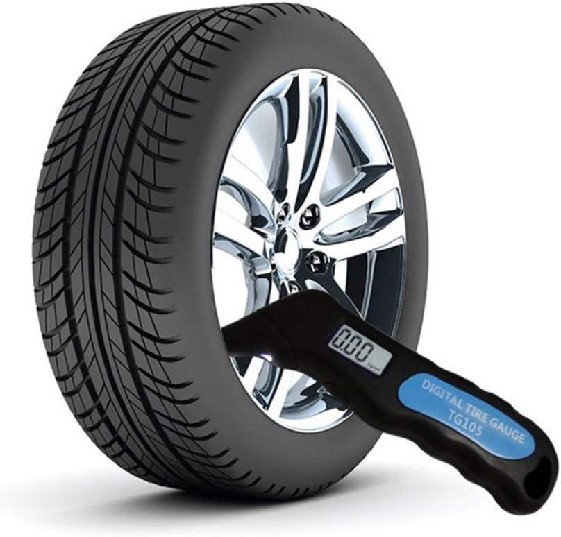 4 R/églages jauge de Pression num/érique des pneus avec /écran LCD 150 PSI pour Voiture Camion de v/élos YJJ Indicateur de Pression num/érique des pneus