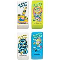Raymond Geddes Dr. Seuss Oh los lugares Beveled goma de borrar, 48Pack (68300)