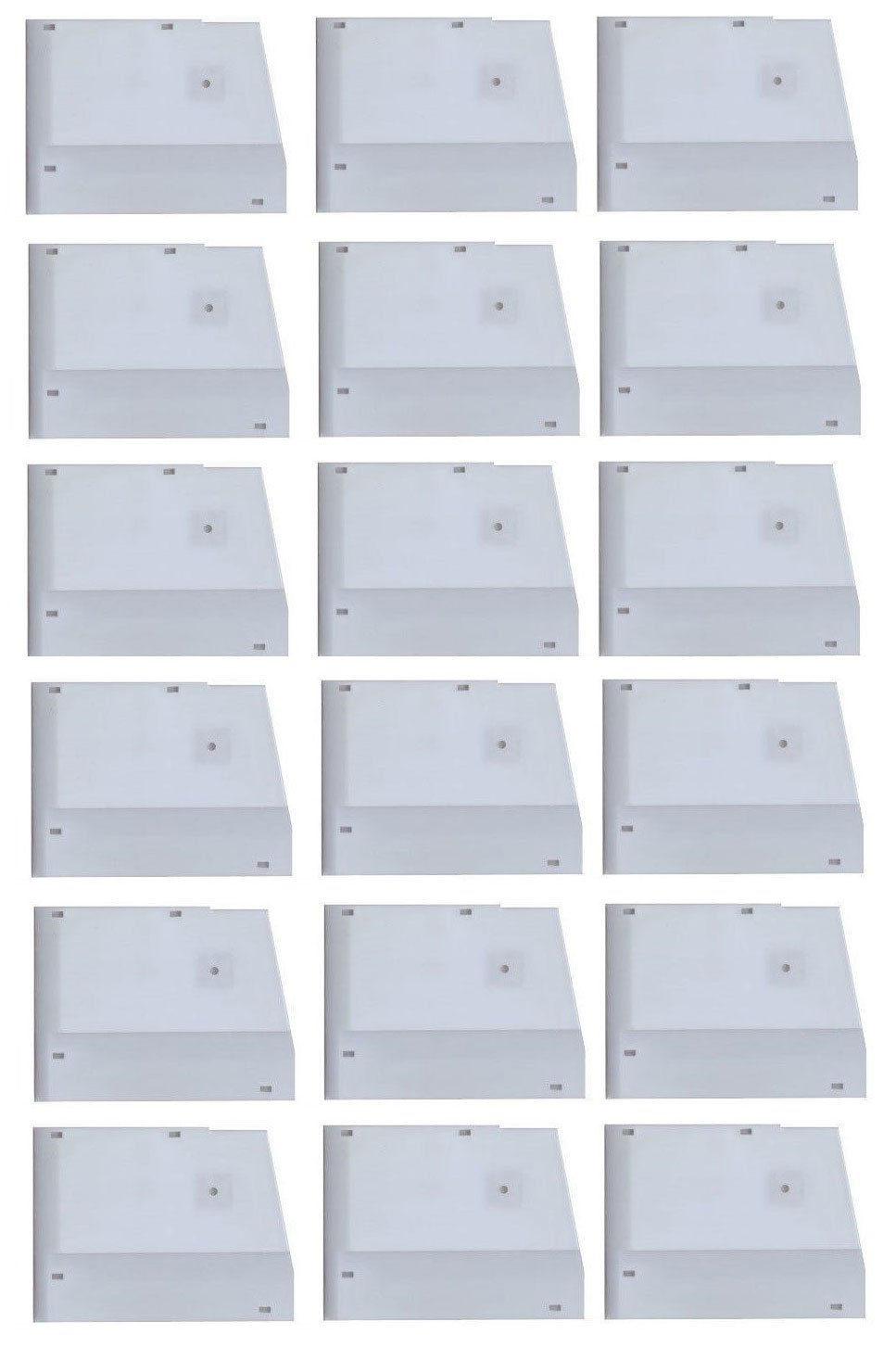 Dixie Narco 12 oz Cans Shims for 5591 Glass Front Vending Machine Qty 18 - W212-1 by Vending-World