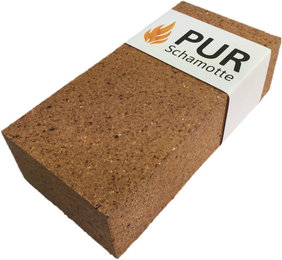 230 x 114 x 76 mm 100 pietre PUR Schamotte NF1 pietra chamotte