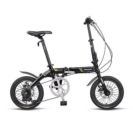 ZXCTTBD Unisex Bicicleta Plegable,First Class Urbana Bici ...