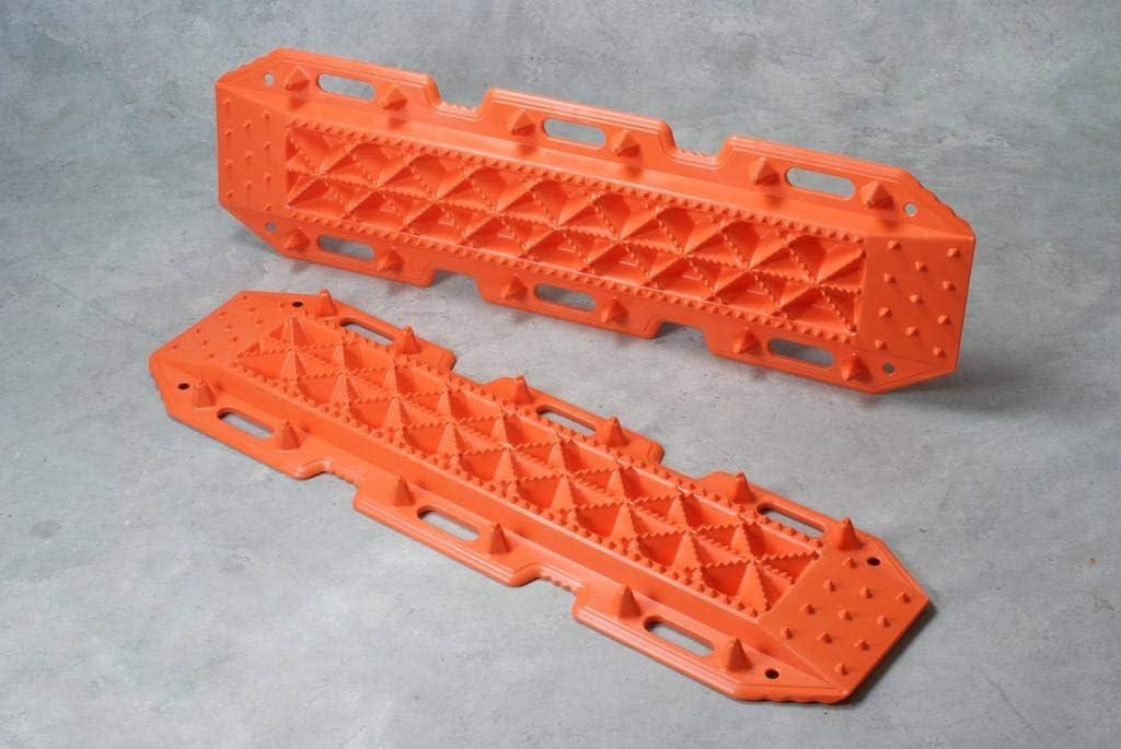 color naranja Planchas de desatasco 4x4 para arena,barro y nieve