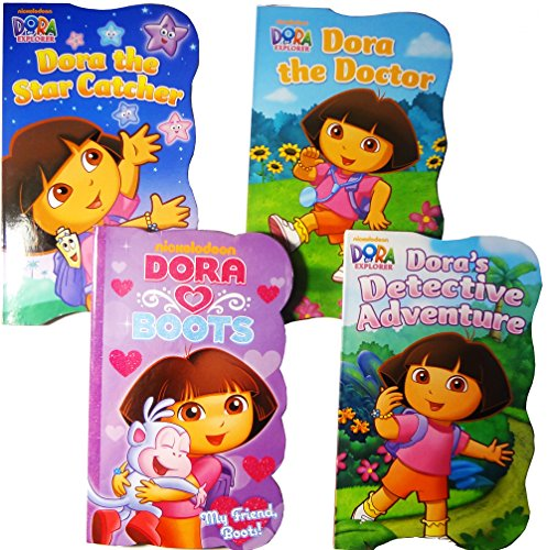 Game The Board Explorer Dora (Nickelodeon Dora The Explorer Baby Toddler Board Books - Set of Four)