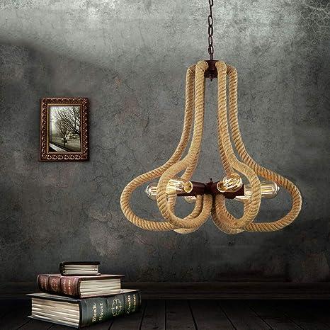 Amazon.com: Ceiling Fan Light Chandelier Lightings Retro ...