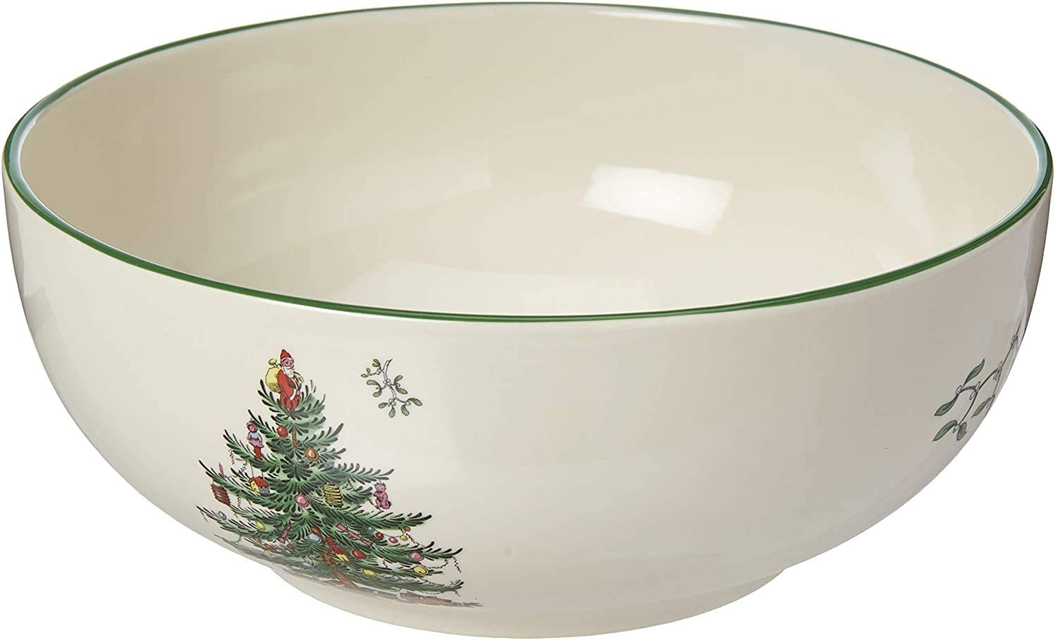 Spode Christmas Tree Round Bowl Fine Porcelain Kitchen Dining