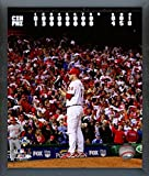 "Roy Halladay Philadelphia Phillies MLB NLDS No Hitter Action Photo (Size: 12"" x 15"") Framed"
