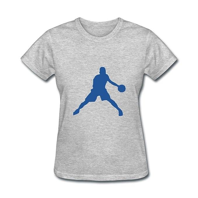 calyfree NBA jugador de baloncesto deporte Casual camiseta de manga corta para mujer XXL: Amazon.es: Ropa y accesorios