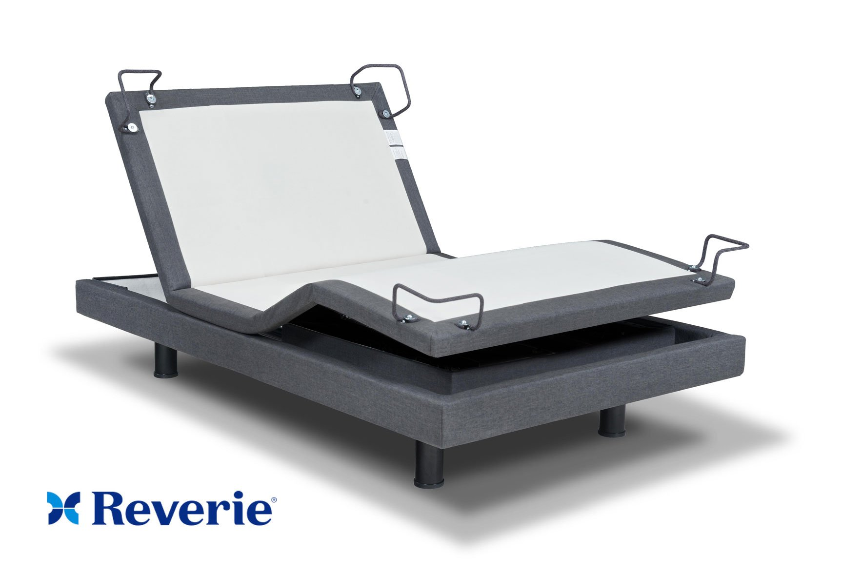 Reverie 7S Adjustable Bed From The Makers Of The Tempurpedic Ergo W/ Bluetooth Option (Twin Xl) by Reverie