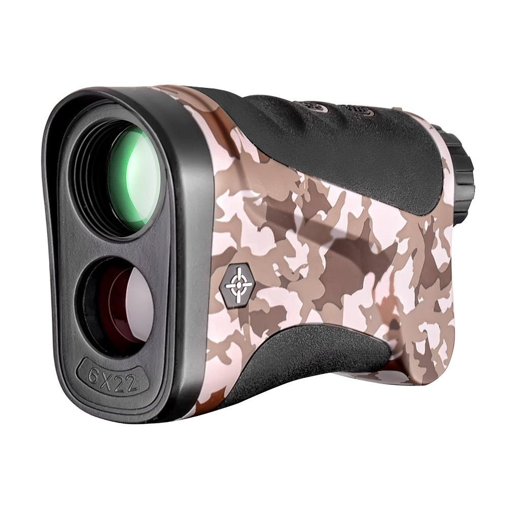 Gosky Laser Rangefinder Hunting Range Finder with Ranging/Speed Model for Hunting, Outdoor Using (LE600S, 656 Yard)