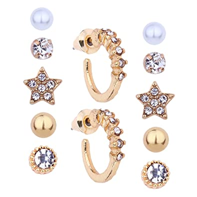 Amazon.com  Szolno Women s Girl s Earring sets Assorted Multiple ... c6822ba8a