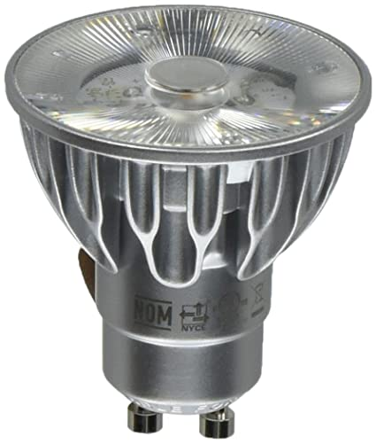Bulbrite SM16GA-07-10D-827-03 SORAA 7.5W LED MR16 2700K Premium 10° 120V GU10 DIM Silver - - Amazon.com