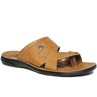 911acebab PARAGON Vertex Men s Yellow Flip-Flops  Buy Online at Low Prices in ...