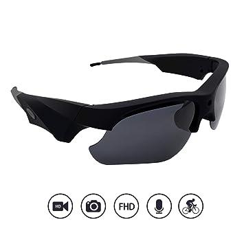 Amazon.com: Yumfond Cámara de Gafas de Sol, Impermeable ...