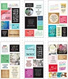 Me & My Big Ideas Me and My Pocket Pages Clear Stickers 6 Sheets-Love Yourself, 1 Pack