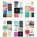 Me & My Big Ideas Pocket Pages Stickers 6 Sheets/Pkg-Love Yourself