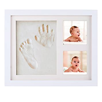 Timeless newborn baby hand and footprint kit and frame baby handprint kit footprint photo