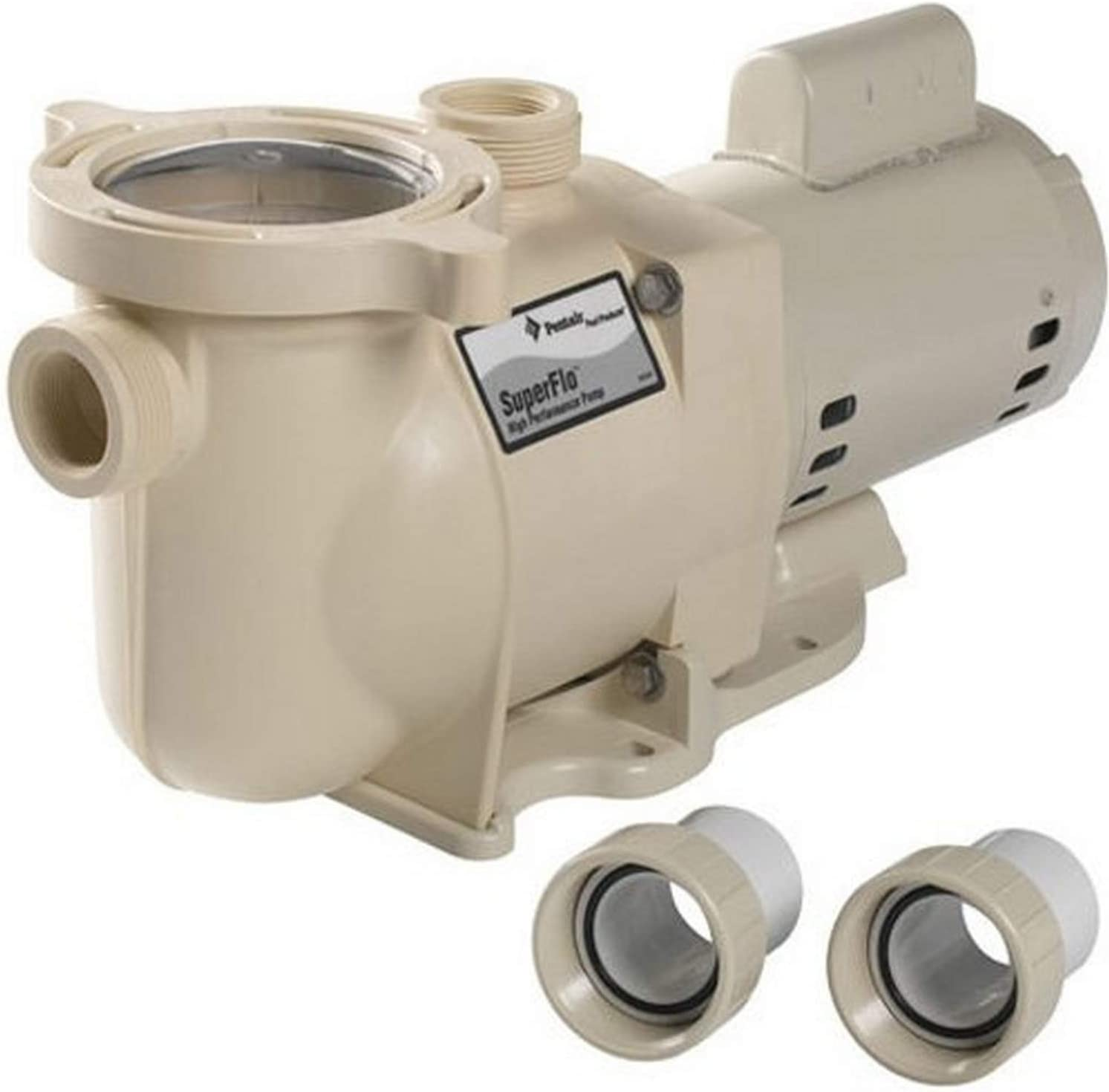 Pentair SF-N1-1AE SuperFlo Single Speed Energy Efficient Pump, 1 HP