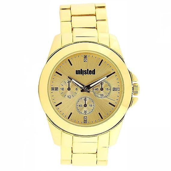Kenneth Cole UNLISTED de la mujer Casual reloj 10032071