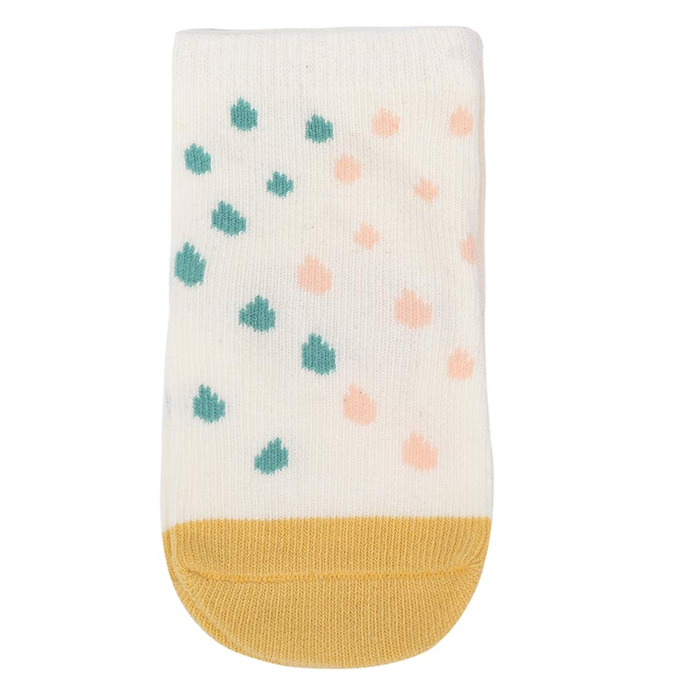 Babasee 6 Pairs Anti-slip Socks Toddler Socks Boys 0-12M Girls Fruit Cherry Print Socks