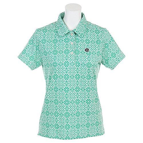 エピキュール(エピキュール) 柄半袖ポロ EP37LG15 GRW 半袖 シャツ