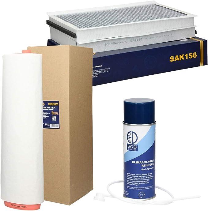 Inspektionspaket Wartungspaket Filterset Filtersatz 2 X Innenraumfilter Mit Aktivkohle 1 X Luftfilter Auto