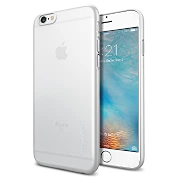 Spigen Air Skin - Funda para Apple iPhone 6S, transparente