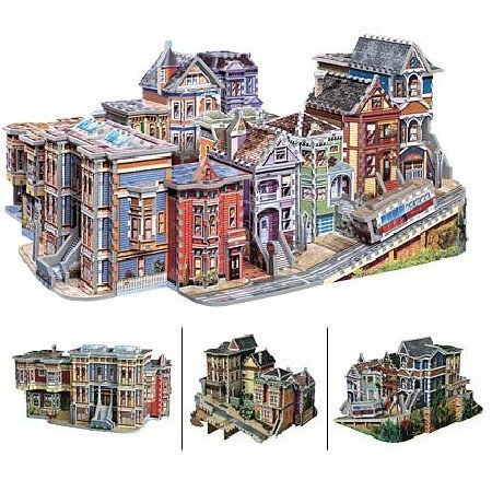 Wrebbit / Puzz3D 3D San Francisco USA 1512 Piece Puzzle by Wrebbit by Wrebbit (Image #1)