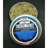 HAIR TEA - HERBAL TEA RINSE WITH A BLEND OF 10 HERBS TO PROMOTE HAIR GROWTH - Herbal hair Vitamins- Deep conditioner For Hair Growth - Herbal conditioner -Vegan Hair Conditioner - Afro Hair treatment