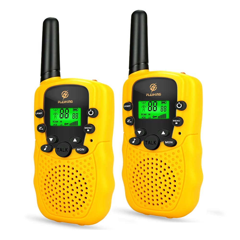 Dreamingbox Outside Kids Gifts Age 3-12, Long Range Two Way Radios Handheld Talkies Best Gifts for 3-12 Year Old Girls Boys Toys for 3-12 Year Old Boys Yellow TGUSSDDJ03 by Dreamingbox (Image #7)