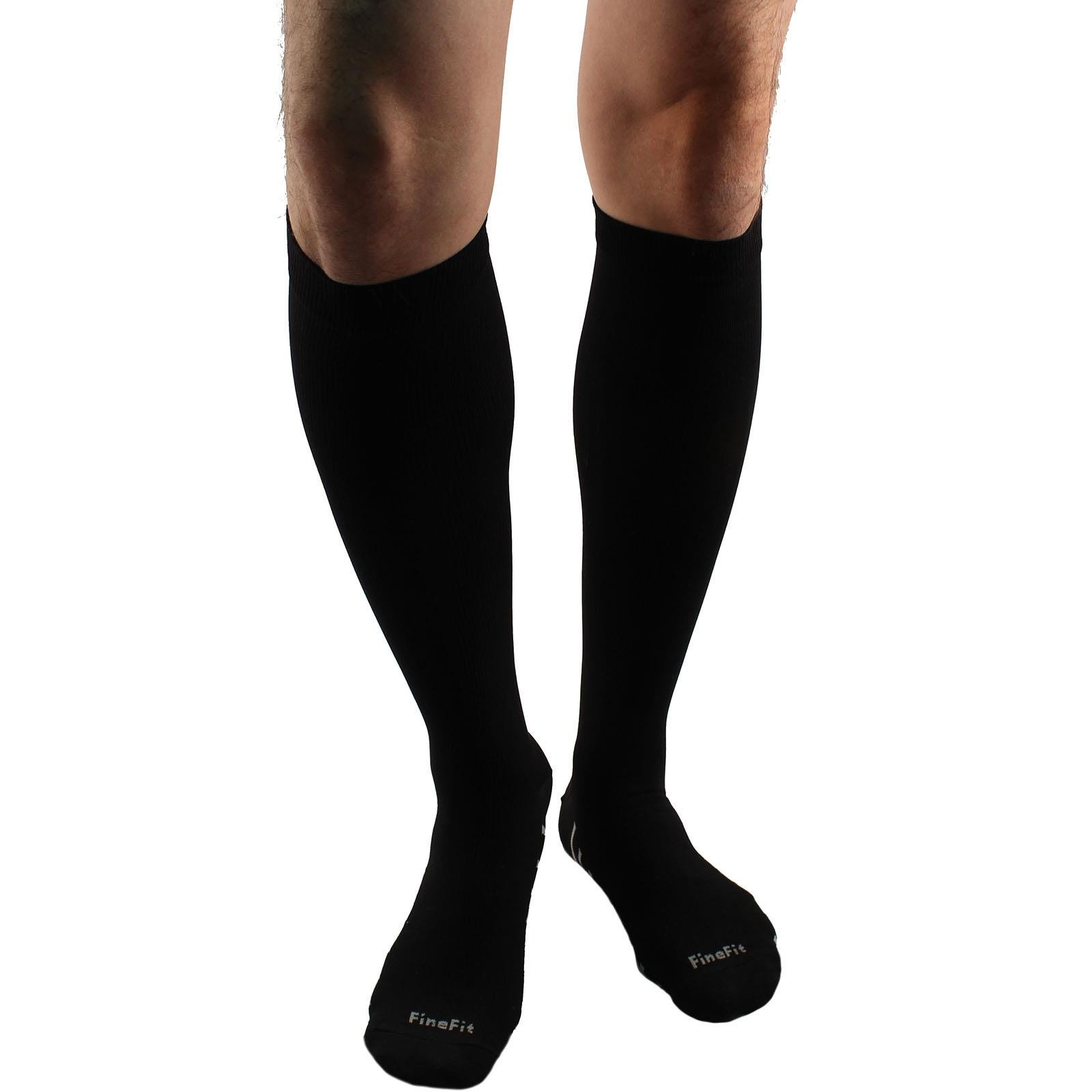 Unisex Everday Fatigue Blood Flow Compression Comfy Socks 8-15mm HG L/XL