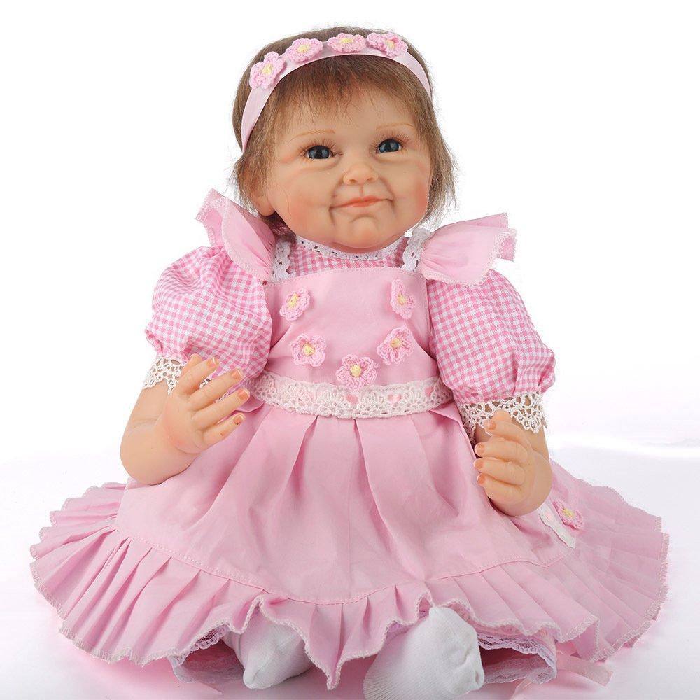 ATOYB Simulation Baby Reborn Puppe Mädchen Cute Toys Fotografie Requisiten Realistische Babypuppen
