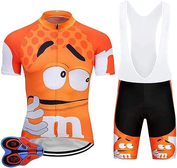 9 opinioni per Moxilyn Abbigliamento Ciclismo da Uomo,Maglia Manica Corta+Pantaloncini,Cuscino