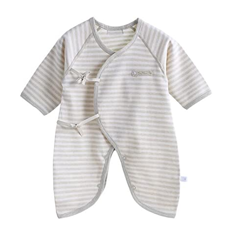 coksupa venda de bebé de algodón Pelele ajustable entrepierna verde claro Talla:59# 0
