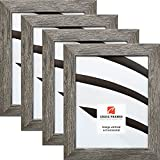 Craig Frames 26030 4 x 6 Inch Picture Frame, Gray Barnwood, Set of 4 Review