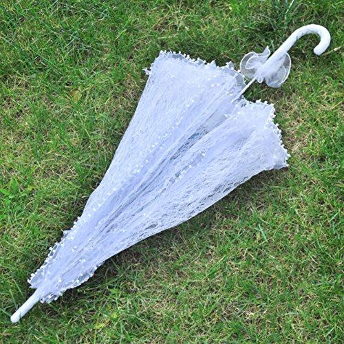 Tracfy Lace Craft Umbrella Vintage Parasol Bridal Wedding Photography Umbrella by Tracfy (Image #2)