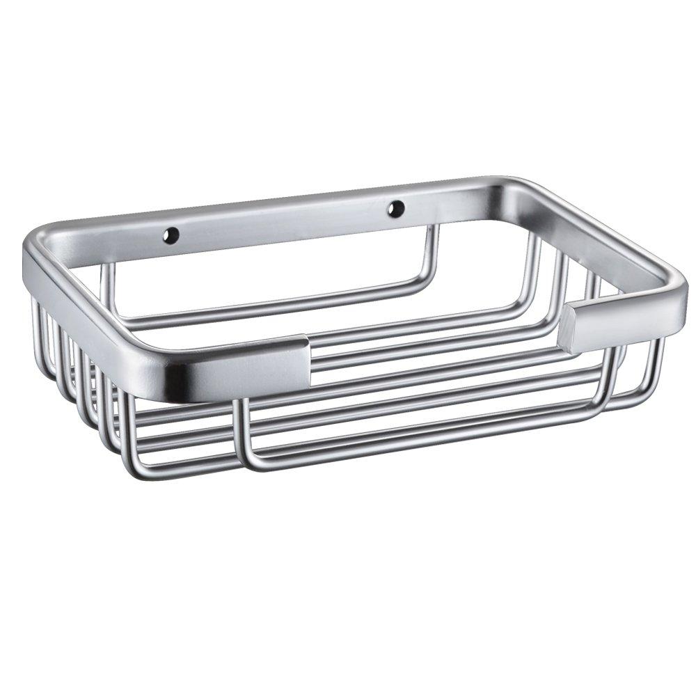 Kes Soap Dish Soap Holder For Bathroom Wall Mounted Aluminum
