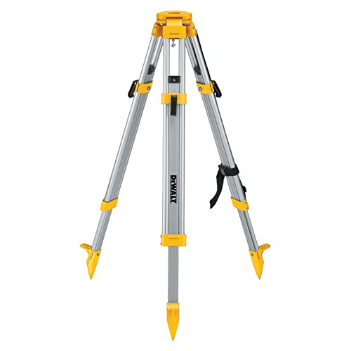 Best Laser Level Tripod: DEWALT DW0737 Heavy-Duty Tripod