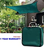 Quictent Rectangle 10×15 Ft Sun Sail Shade Canopy Top Cover Patio Garden W/free Bag- Green Review