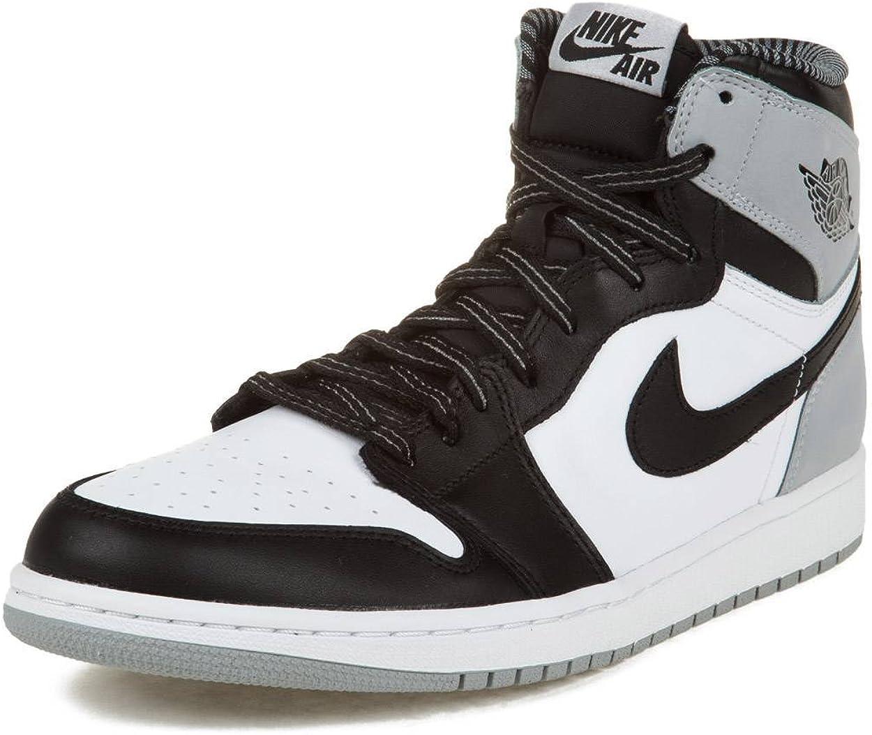 white and gray jordan 1