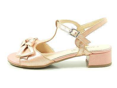 9 Sandalen 28202 Sandaletten Damen Caprice Metallic 20 1JFK3ucTl
