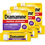 Dramamine All Day Less Drowsy Motion Sickness Relief   8 tablets   pack of 3   3 Count