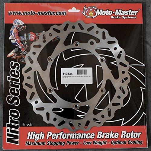 モトマスター Moto-Master ブレーキローター NITRO リア 90年以降 KTM、ハスクバーナ、フサベル ステンレス 1711-0680 110363   B01MF5A05Y